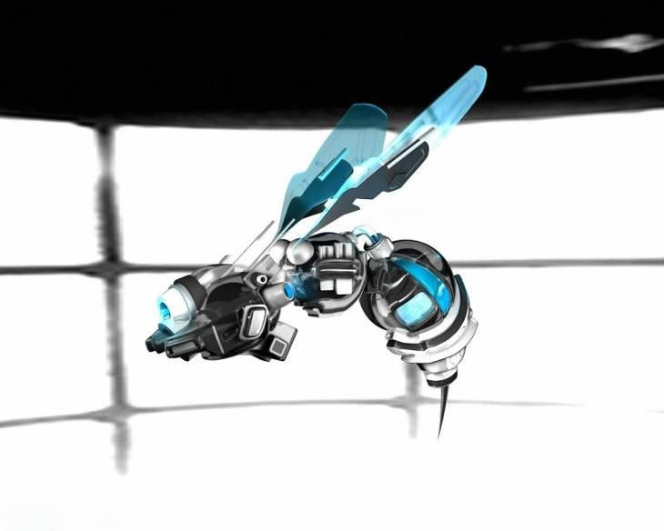 mini drone de surveillance