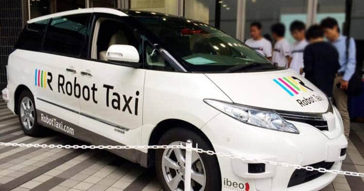 Des taxis autonomes en circulation au Japon