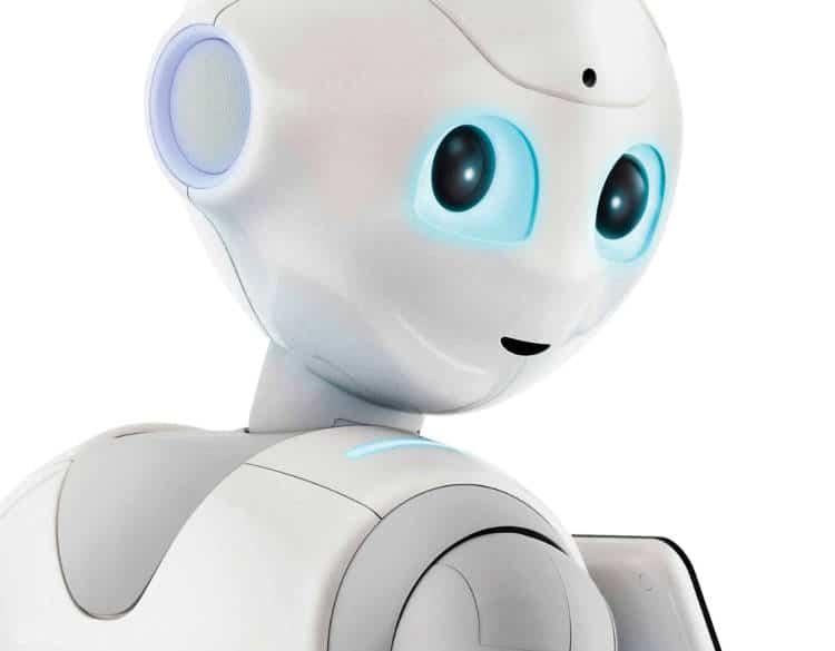 Des robots Pepper vendeurs de téléphone