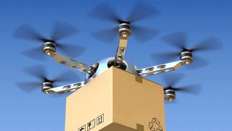 Dans le Var, la Poste a obtenu une ligne aérienne pour livrer quotidiennement des colis par drone