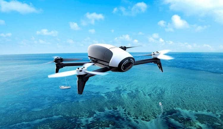 Les drones pour illustrer l'actualité