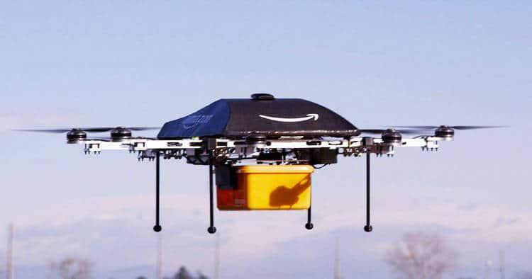 un drone livreur