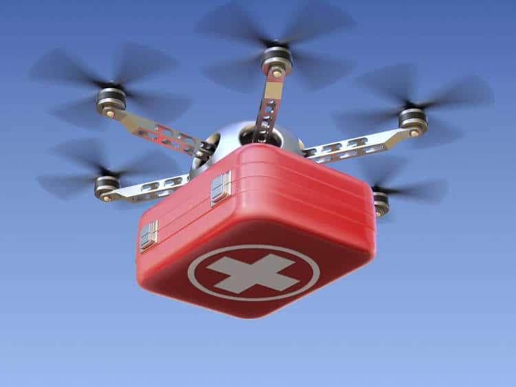 Les drones de surveillance et drones de sauvetage dans les zones sensibles