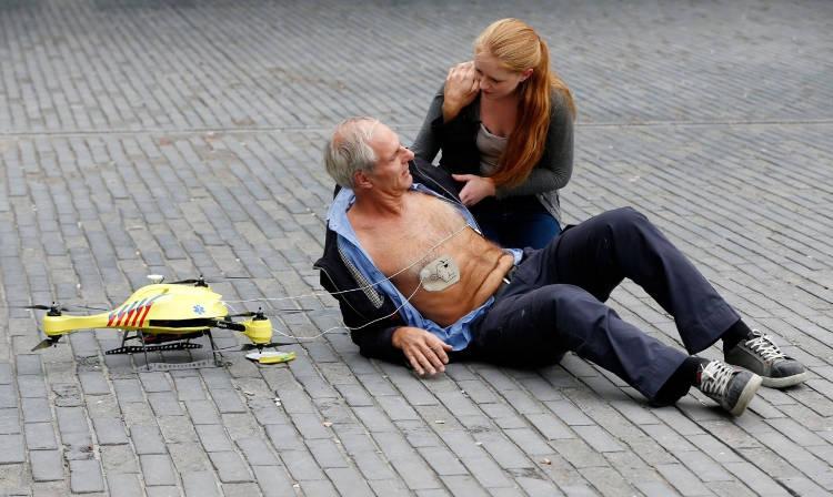Un drone livreur va vous sauver la vie