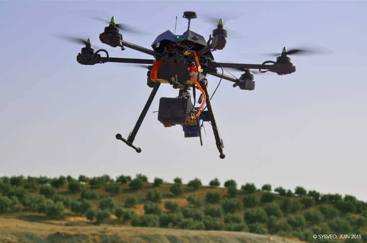 Une clientèle discrète, car le drone est un avantage concurrentiel certain