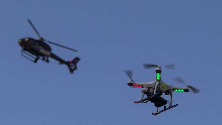 réglementation du drone