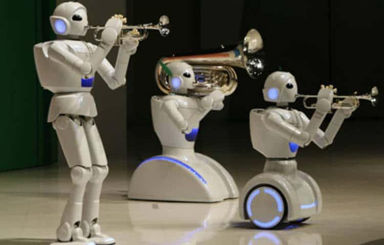 robot musicien