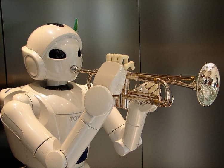Robot musicien: l'arme diplomatique américaine