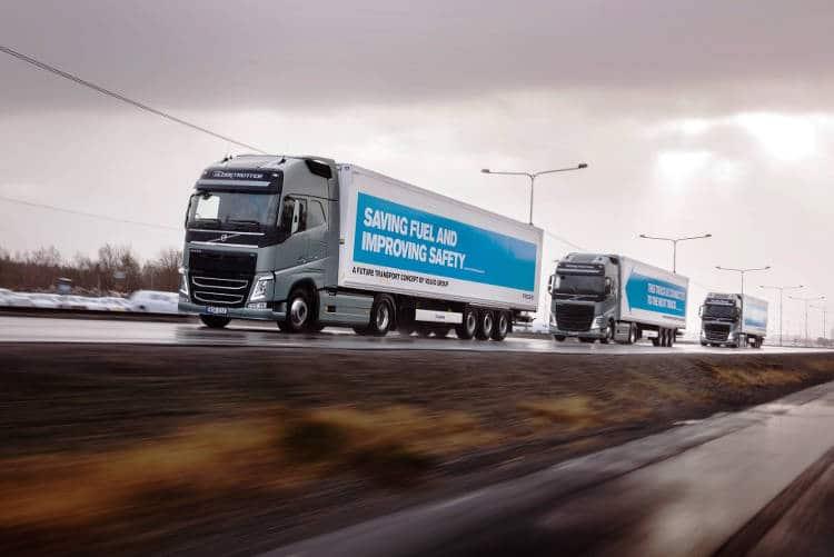Le test comparatif des camions autonaumes en europe