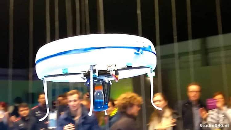 Un drone café ouvre ses portes aux Pays-Bas