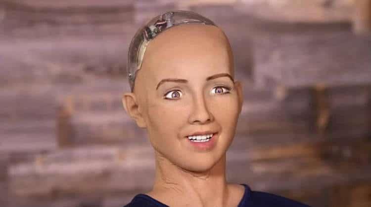 humanoïde sophia