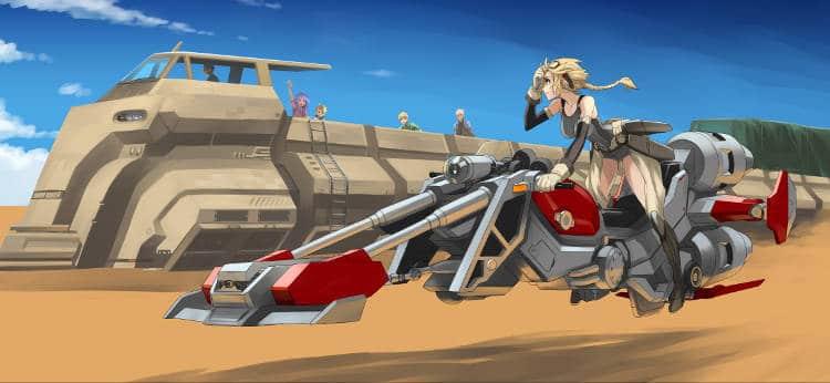 Hoverbike la moto du futur !