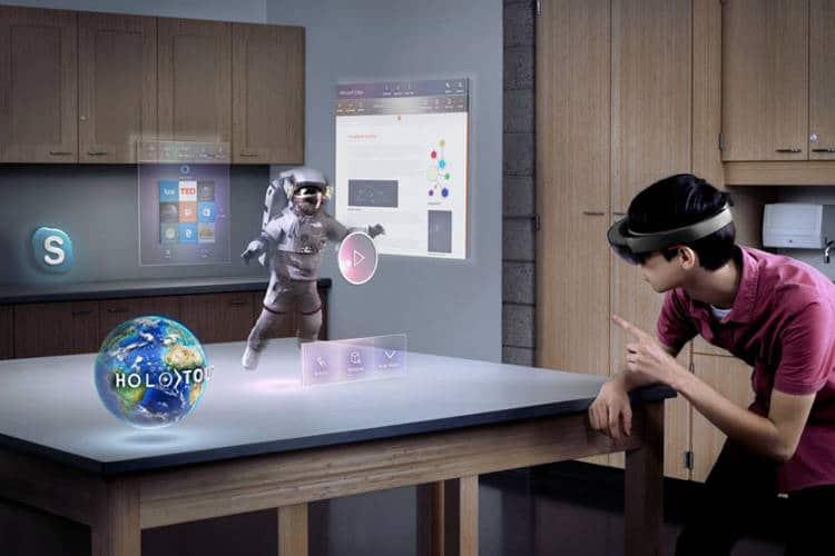 L'holoportation permet de rencontrer ses amis dans un monde virtuel