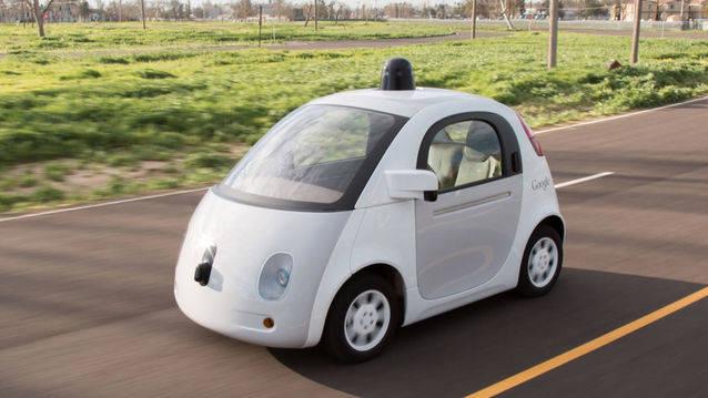 véhicule autonome google