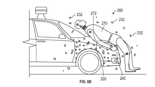 Pour sa voiture autonome, Google crée le capot auto-collant !