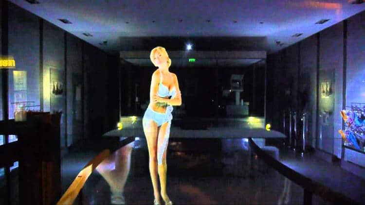 hologramme du futur