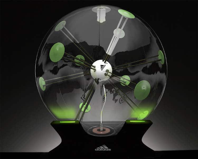 le ballon de foot connecté