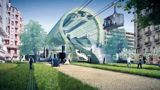 la ville du futur selon google