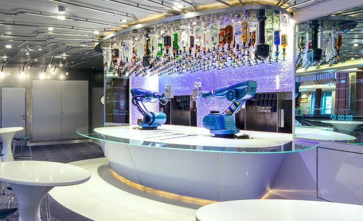 Cet été: et si vous dégustiez le cocktail maison d'un robot-cocktail ?