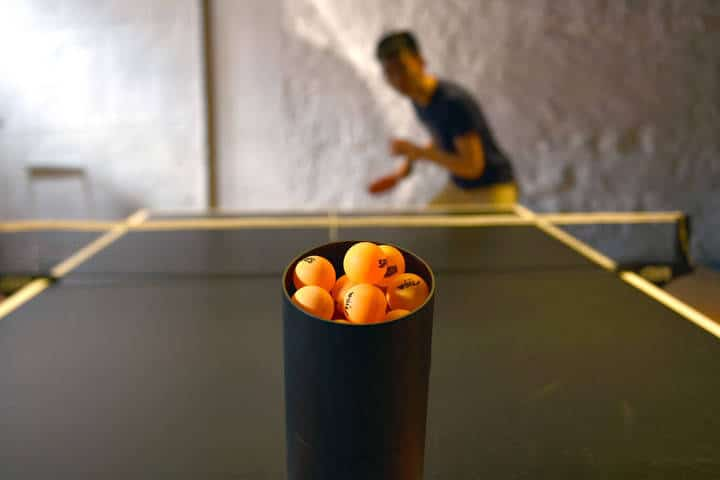 trainbot un robot ping pong connecté
