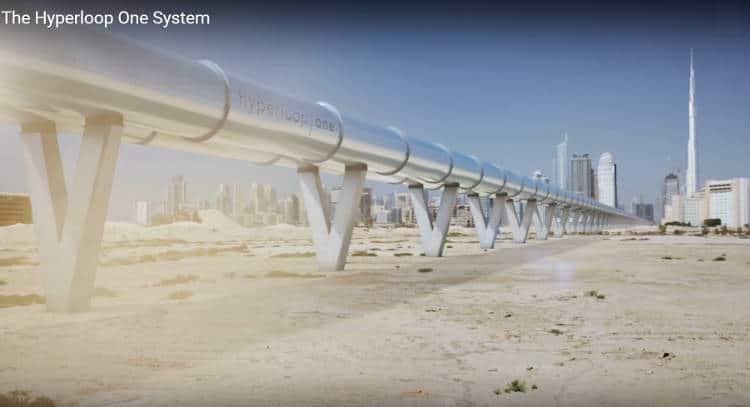 De l'Europe à la Chine en moins d'un jour avec l'Hyperloop