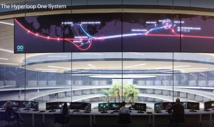 La première commande de l'hyperloop serait finalement pour le trajet Dubai Abou Dabi