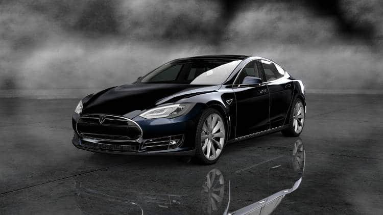 voiture autonome le model S de tesla