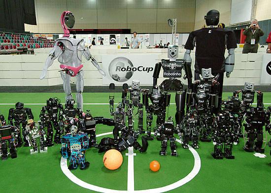 les épreuves de la robocup