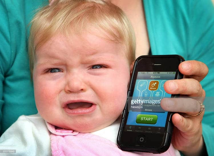 Une base de données de pleurs de nouveaux nés