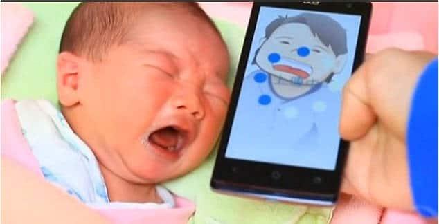 Votre nourrisson pleure et vous ne comprenez pas pourquoi? Une nouvelle appli' va vous changer la vie!