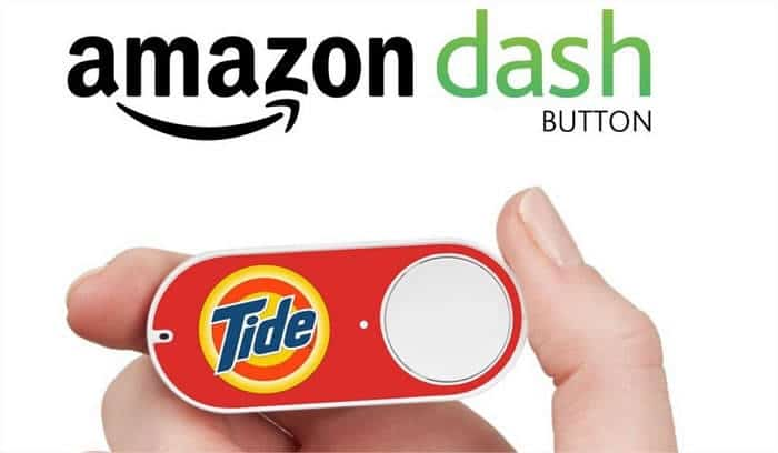 Dash le premier bouton connecté par amazone