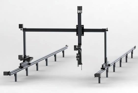 Le FarmBot Genesis : un bras mécanique et un logiciel