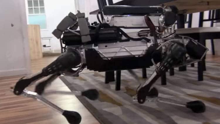 spotmini le robot chien agile de boston dynamics