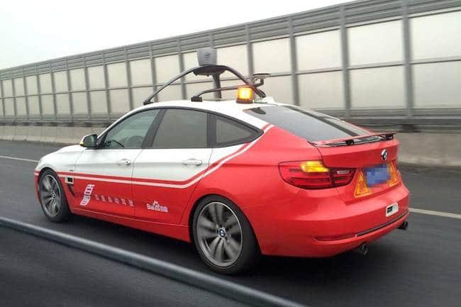 Ou en est Baidu dans le développement de sa propre voiture autonome ?