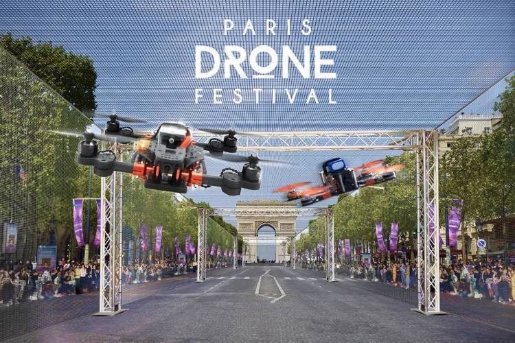 Course drone FPV paris