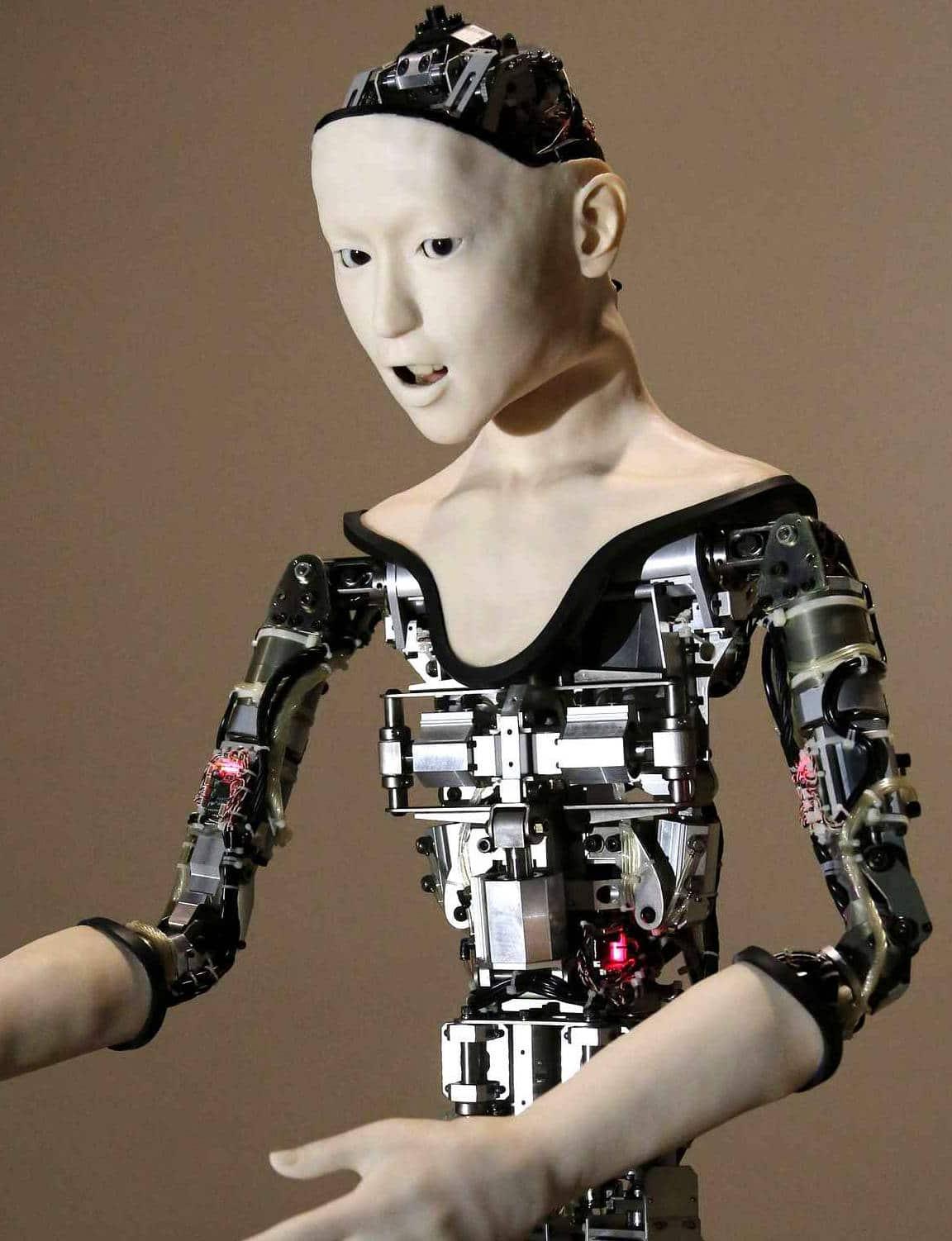 Les caractéristiques de l'humanoïde Alter