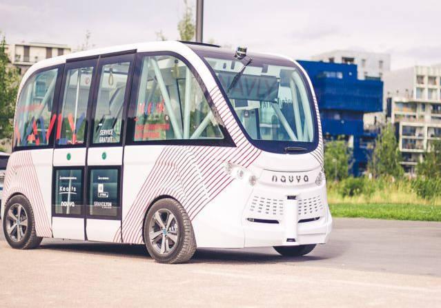 Navly un véhicule 100% autonome et 100% électique