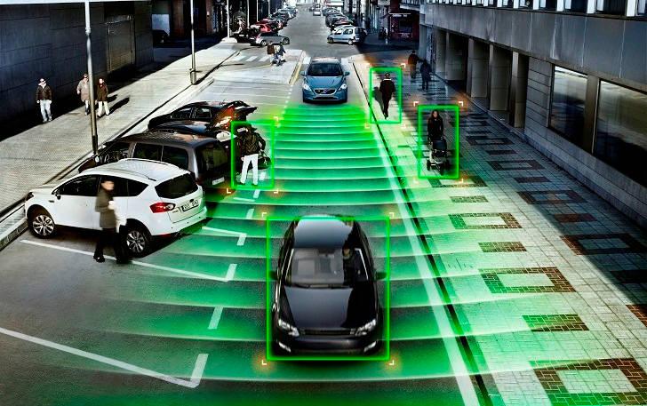 un monde avec des véhicules autonomes