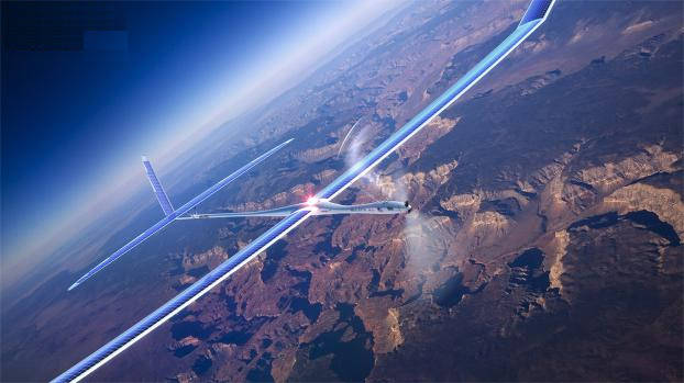 drone pour la diffusion d'internet