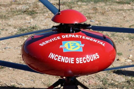 drone pour lutter contre les incendies