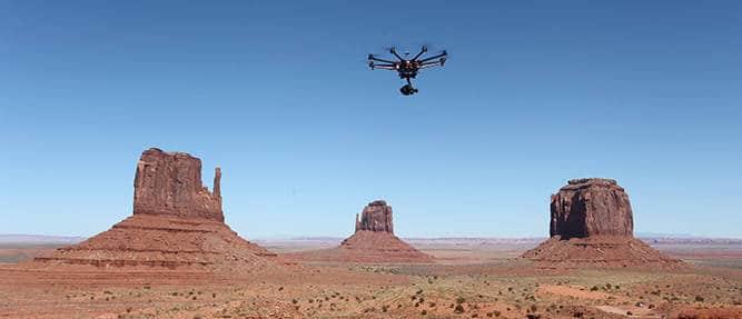 Les drones et la photographie aérienne