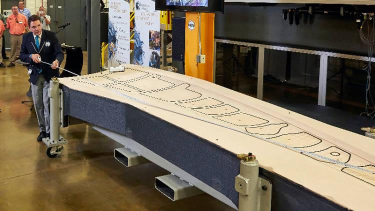 La « Big Machine » a imprimé en 3D la plus grosse structure du monde en à peine 30 heures