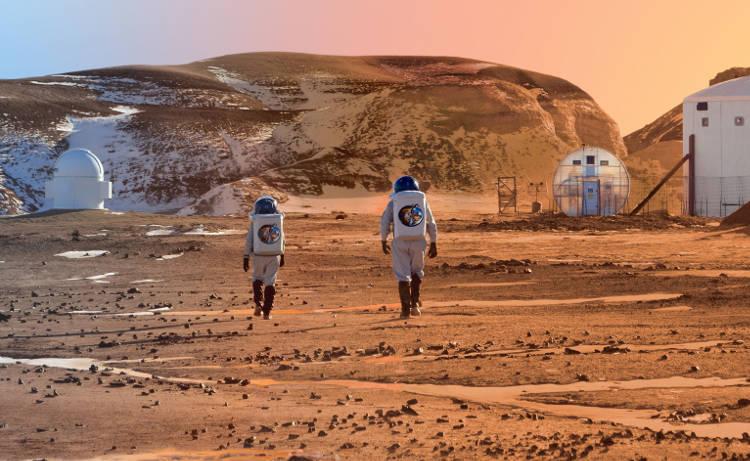 habiter sur mars grâce à l'intelligence artificielle