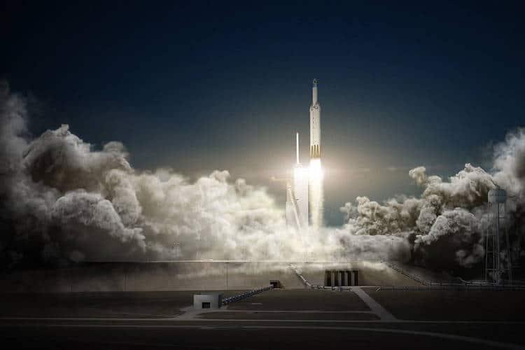 Un lancement d'une fusée Space X prévue dans les mois à venir