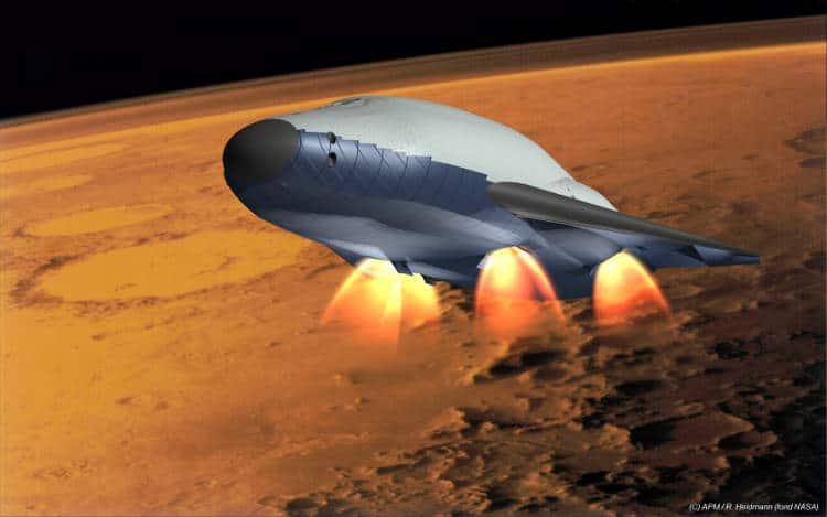 Elon Musk veut envoyer des Hommes sur Mars