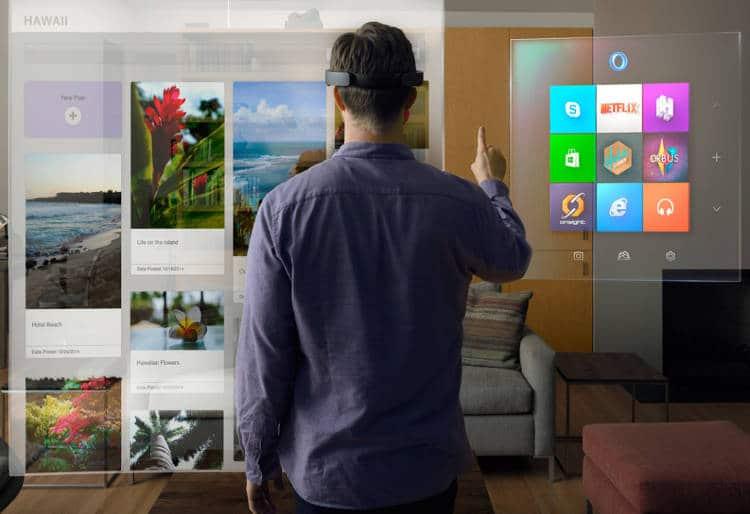 Avec HoloLens, Microsoft se positionne sur la « réalité mixte »
