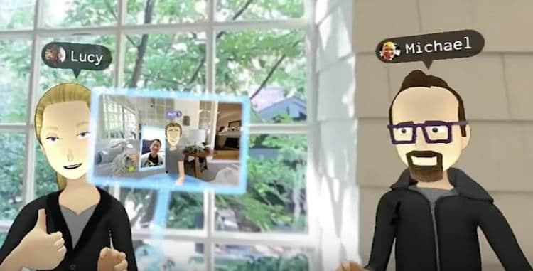 Facebook vous présente Messenger format réalité virtuelle