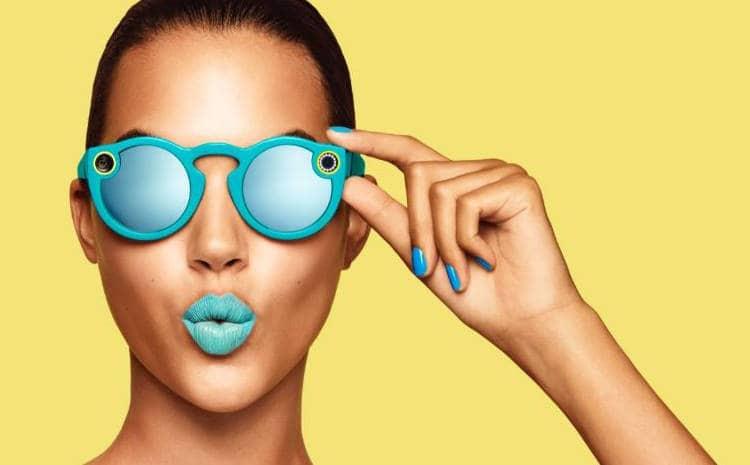 Snapchat lance des lunettes connectées