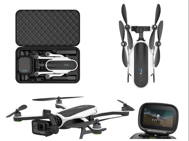 Le drone de loisir Karma a de nombreux atouts (notamment sa caméra Hero 5)
