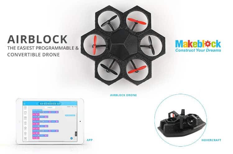 airblock le drone modulable